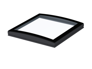 VELUX - ISD 090090 1093 - Curved glass top unit for FRW, scratch resistant, 0-15 degrees, 90x90