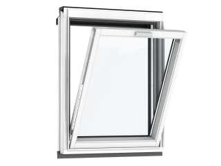 VELUX - VFE MK31 2066 - White painted, fixed vertical, triple glazing, 78x60